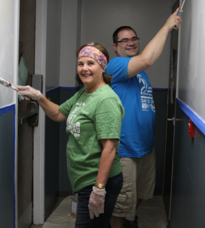 Day of Caring at Waypoint