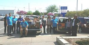 CRBT Food Drive Donation