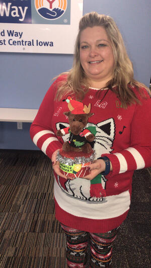 Holiday Hoopla_Ugly Sweater Winner